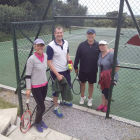 Runners up of the Witheridge & Gogland courts